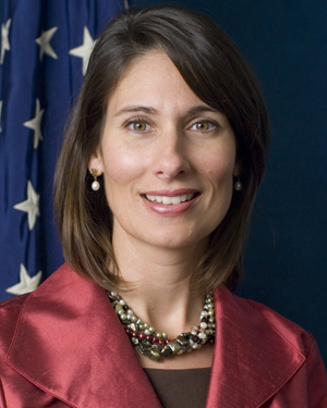 NTSB Member Deborah Hersman, the prospective chairman. A Senate endorsement of her appointment will mark a vote for competence in government.
