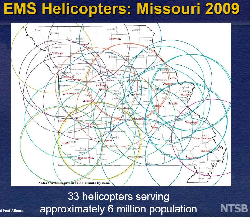 "As NTSB Chairman Deborah Hersman remarked, ""I thought that chart of Missouri was really dramatic."""