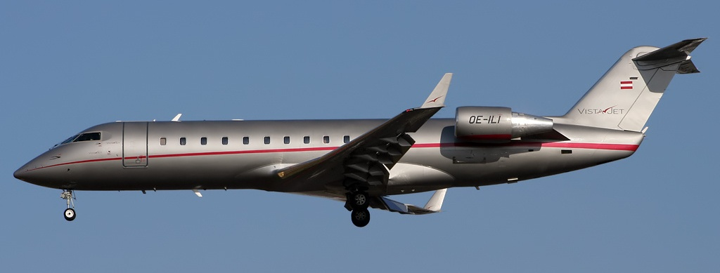 The Bombardier CL-600-2B19.
