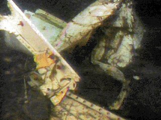 The remains a mile down in the water of the Birgenair B757, downed by a blocked pitot tube and resulting crew confusion.