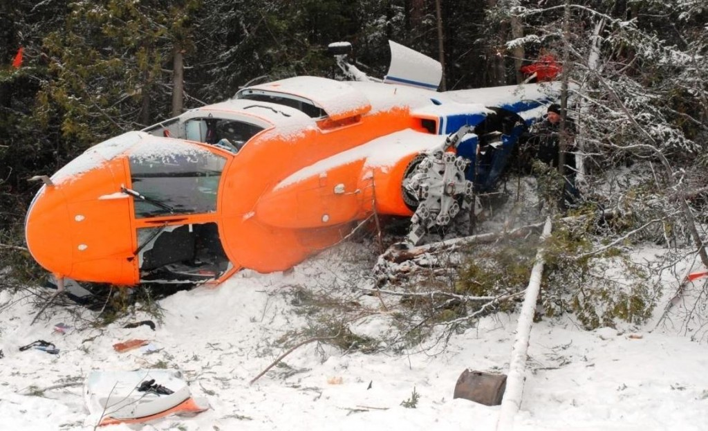 Sikorsky S-76, collision with terrain, Temagami, ON