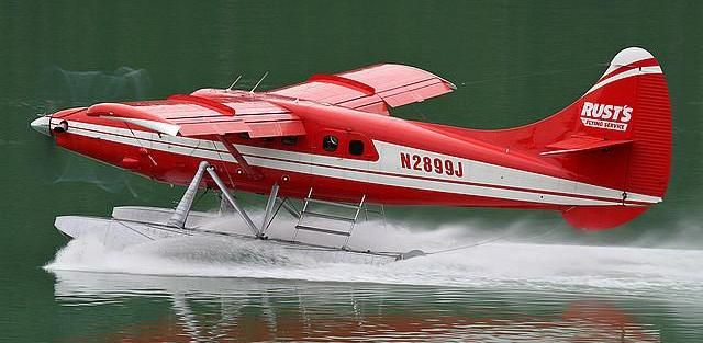 A DeHavilland DHC-3T similar to the one that crashed.