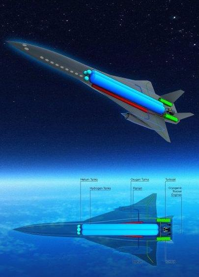 Airbus Envisions a New Supersonic Transport Plane With Rocket-Like Performance
